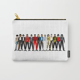 King MJ Pop Music Fashion LV Carry-All Pouch