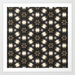 Kaleidoscope dreams Art Print