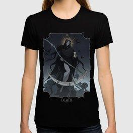 Drawlloween Tarot: XIII Death T-shirt