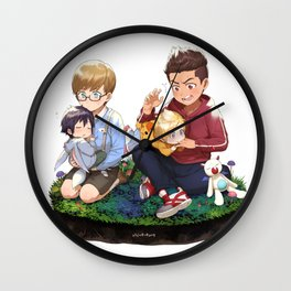 Final Fantasy 15 Boys Wall Clock
