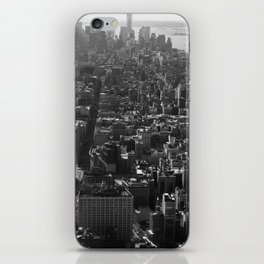 Manhattan Skyline, NY, fine art print, new york city, high quality photo iPhone Skin