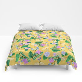 Springtime Ditzy Florals Comforters
