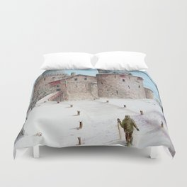 Castell Coch (Red Castle) - Winter Duvet Cover