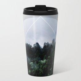 Foggy Woods 3X Metal Travel Mug