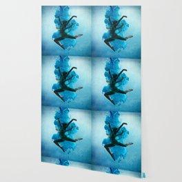 Ballet Dancer in Deep Sea. Wallpaper