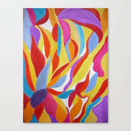 Divine Flowers Canvas Print