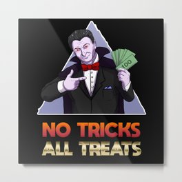 Halloween Costume Metal Print