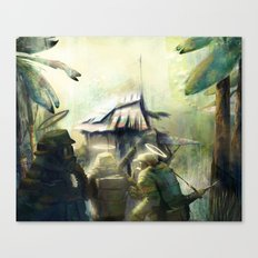 ARMY OF 3 Canvas Print