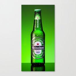 Ice cold Heineken Canvas Print