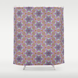 Summer Splash - Blue Shower Curtain