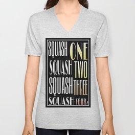 Squash One Unisex V-Neck