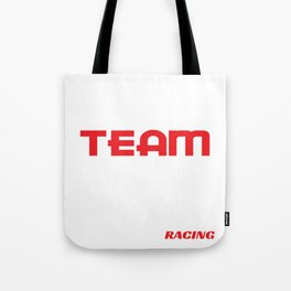 """Simple and extravagant """"Drift Team Automotive Racing""""design fabulously for a legit racer like you! Tote Bag"""