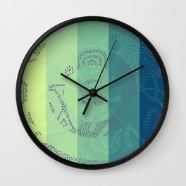 Swirl. Wall Clock