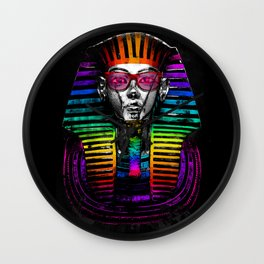 The King of Colors Wall Clock
