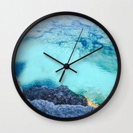 Cyprus Sea I Wall Clock