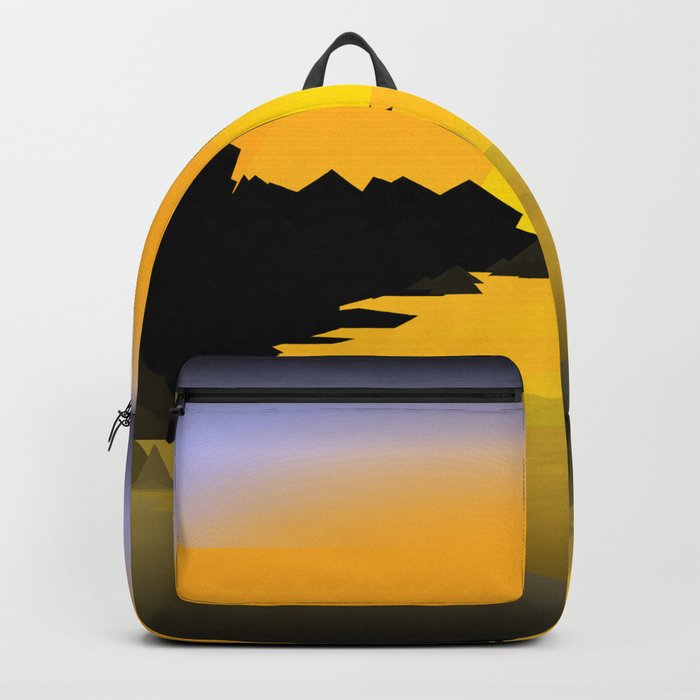 Sunset on the sea Backpack