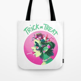 Trick or Treat - Candy Brain Tote Bag