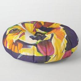 Pop Art Corgi Floor Pillow