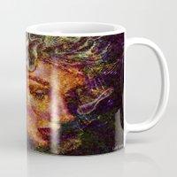 medusa Mugs featuring Medusa.... by shiva camille