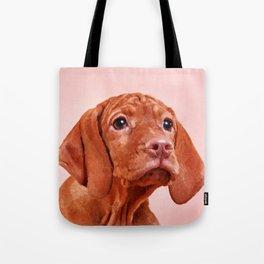 Vizsla puppy- Hungarian pointer Tote Bag