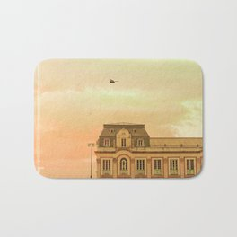 Fairy Tale Book (Retro and Vintage Urban, architecture photography) Bath Mat