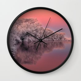 Color of Winter Wall Clock