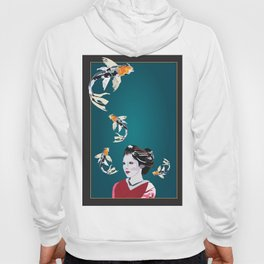 Koi's in and out of my Mind Hoody