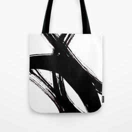 Abstract Wall art, Abstract Print, Black White Abstract Print, Black White Art, Minimalist Print, Ab Tote Bag