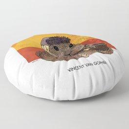 Vincent van Gopher Floor Pillow