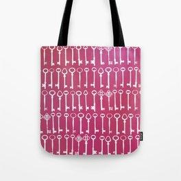 Lock and Key Tote Bag