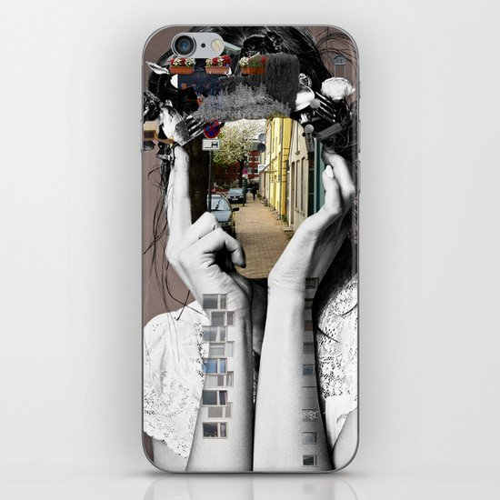 Crazy Woman - Lara Lisa Bella iPhone & iPod Skin