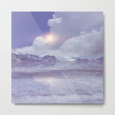 Magic in the Clouds IV Metal Print