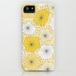 Yellow Lily Pad iPhone Case