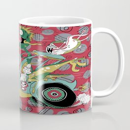 get in the car, we're goin' for a ride! Coffee Mug