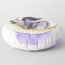 Crescent Howl Floor Pillow