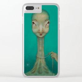 La Coquette Clear iPhone Case