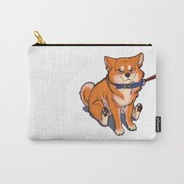 Grumpy Shiba Carry-All Pouch