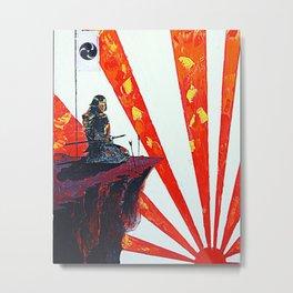 SUNRISE MEDITATION Metal Print