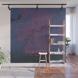 Edmonton, Canada - Neon Wall Mural