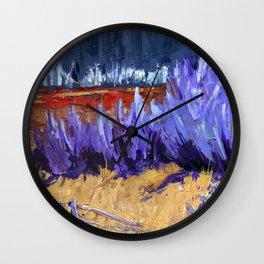 Winter Imagined Wall Clock