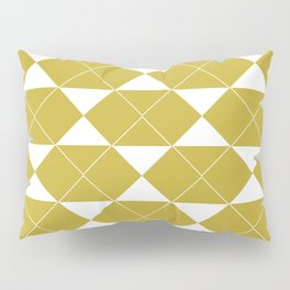 The 70's in Yellow and White Pillow Sham