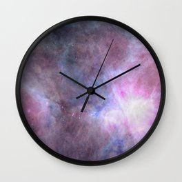 The Purple Density Of The Universe Wall Clock