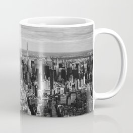 where dreams are made of (black and white) Coffee Mug