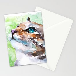 cat#22 Stationery Cards