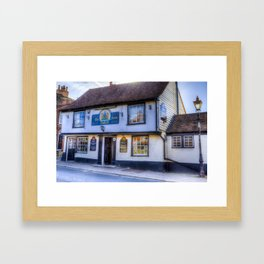The Coopers Arms Pub Rochester Framed Art Print