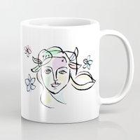 goddess Mugs featuring Goddess by G_Stevenson
