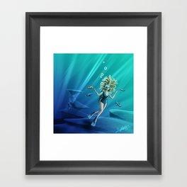 Deep Sea Feelings (Evolve) Framed Art Print