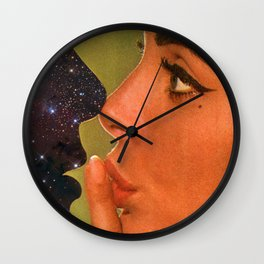 Lust In Space Wall Clock