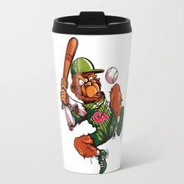 Baseball Monkey - Limerick Travel Mug