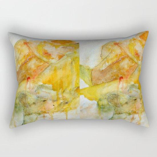 Yellow Rose of Texas Rectangular Pillow
